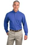 SanMar Port Authority S600T, Port Authority® Long Sleeve Twill Shirt.