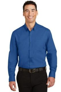 SanMar Port Authority S663, Port Authority® SuperPro Twill Shirt.