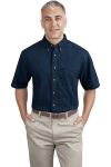 SanMar Port & Company SP11, Port & Company® - Short Sleeve Value Denim Shirt.