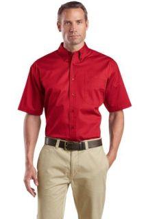 SanMar CornerStone SP18, CornerStone® - Short Sleeve SuperPro Twill Shirt.