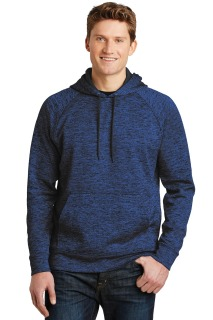 SanMar Sport-Tek ST225, Sport-Tek® PosiCharge® Electric Heather Fleece Hooded Pullover.