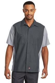 SanMar Red Kap SY20, Red Kap® Short Sleeve Ripstop Crew Shirt.
