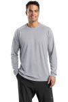 SanMar Sport-Tek T473LS, Sport-Tek® Dry Zone® Long Sleeve Raglan T-Shirt.