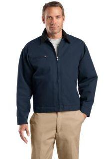 SanMar CornerStone TLJ763, CornerStone® Tall Duck Cloth Work Jacket.
