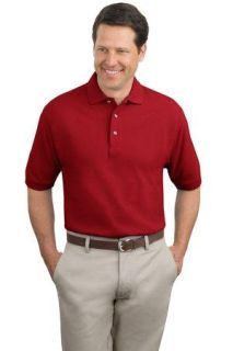 SanMar Port Authority TLK420, Port Authority® Tall Heavyweight Cotton Pique Polo.