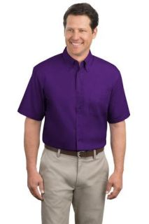 SanMar Port Authority TLS508, Port Authority® Tall Short Sleeve Easy Care Shirt.