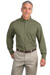 SanMar Port Authority TLS600T, Port Authority® Tall Long Sleeve Twill Shirt.