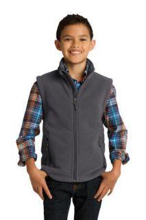 SanMar Port Authority Y219, Port Authority® Youth Value Fleece Vest.