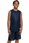 SanMar Sport-Tek YT555, Sport-Tek® Youth PosiCharge® Mesh Reversible Sleeveless Tee.