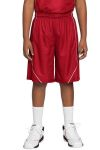 SanMar Sport-Tek YT565, Sport-Tek® Youth PosiCharge® Mesh Reversible Spliced Short.