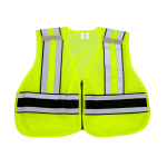 Snap N Wear 124PL ANSI Class 2 Breakway Safety Vest (No Printing) - Imported