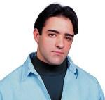 Snap N Wear 13 Acrylic Dickey with Flat Kint Mock Turtle Collar - Domestic