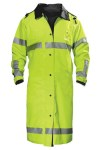 Spiewak S309V VizGuard Long Reversible Duty Raincoat ANSI 107-2010 Class 3
