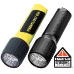 Streamlight 4AA_LED 4AA LED with White LEDs and alkaline batteries.  Clam packaged