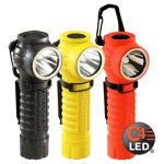 Streamlight 88832 PolyTac 90  with Gear Keeper and lithium batteries - Orange