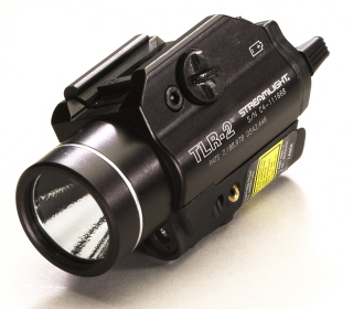 Streamlight TLR-2_Laser TLR-2 Rail Mounted Tactical Light with Laser Sight