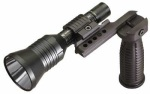 Streamlight Super Tac Kit with vertical grip and low profile mount. Box