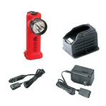 Streamlight Survivor LED with Charger/Holder and AC and DC cords - Orange
