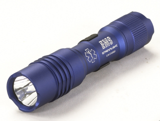 "StreamLight Protac_ems Protac Ems. Clam Packaged. Includes "" "" Aa"" Alkaline Battery And Holster. Blue"