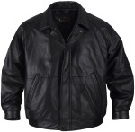 StormTech LNX-1 Men's Aviator Full Leather Club Jacket