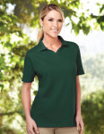 Tri-Mountain 091 Newport-Women's 60/40 Johnny Collar Easy Care Golf Shirt.
