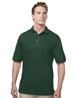 Tri-Mountain 095 Element-Men's 60/40 Easy Care Short Sleeve Pique Golf Shirt.
