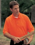 Tri-Mountain 100 Safeguard-Poly Safety Pique Golf Shirt.