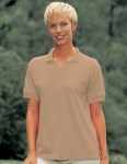 Tri-Mountain 101 Venice - Women's 60/40 v-neck pique golf shirt