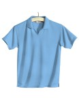 Tri-Mountain 104 Ambition-Women's Poly Ultracool Mesh Johnny Collar Golf Shirt.