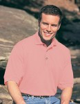 Tri-Mountain 105 Profile-Men's 60/40 Pique Golf Shirt.