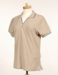 Tri-Mountain 112 Journey-Women's 60/40 Ultracool Mesh Johnny Collar Golf Shirt.