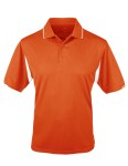 Tri-Mountain 118 Action-Poly Ultracool Waffle Knit Golf Shirt.