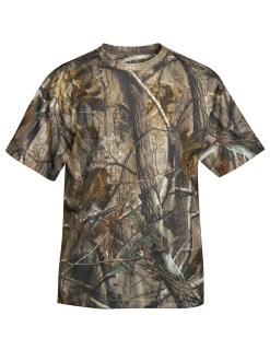 Tri-Mountain 122C Momentum Camo- Polyester Mesh Shirt With Realtree Ap® Pattern & Tri-Mountain Ultracool™.