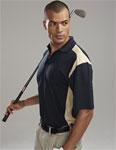 Tri-Mountain 145 Blitz-Men's 100% Polyester Uc Knit Polo Shirt.
