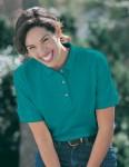 Tri-Mountain 166 Autograph-Women's Cotton Pique Golf Shirt.