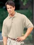 Tri-Mountain 168 Signature-Men's Cotton Pique Golf Shirt.