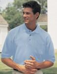 Tri-Mountain 169 Signature Ltd-Men's Cotton Pique Pocketed Golf Shirt.
