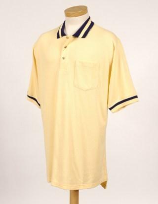 Tri-Mountain 179 Teammate-60/40 Pique Pocketed Golf Shirt With Trim.