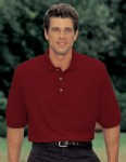Tri-Mountain 180 Advantage-60/40 Ultracool Pique Golf Shirt.