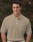 Tri-Mountain 189 Caliber Ltd-Men's Cotton Baby Pique Pocketed Golf Shirt.