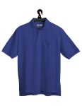 Tri-Mountain 206 Engineer-Men's 60/40 Stain Resistant Pique Pocketed Golf Shirt.