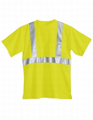 Tri-Mountain 222 Boundary-Polyester Safety Shirt. Ansi Class 2/Level 2.