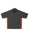 Tri-Mountain 2610 Icon-Windproof/Water Resistant 1/2 Zip Short Sleeve Windshirt.