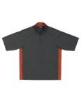 Tri-Mountain 2610 Icon-Windproof/Water Resistant 1/2 Zip Short Sleeve Windshirt.