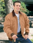Tri-Mountain 4700 Sequoia-Cotton Canvas Work Jacket With Removable Wool Liner.