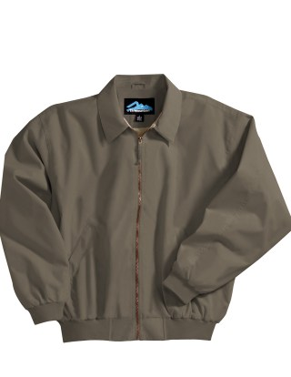 Tri-Mountain 6000 Achiever-Microfiber Jacket With Poplin Lining.