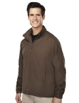 Tri-Mountain 6015 Helios-Men's 100% Polyester Long Sleeve Jacket With Water Resistent