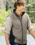 Tri-Mountain 605 Fullerton-Men's 100% Polyester Mesh Textured 1/4 Zipper Pullover.