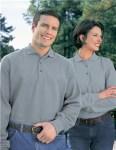 Tri-Mountain 608 Champion-Men's 60/40 Pique Long Sleeve Golf Shirt.