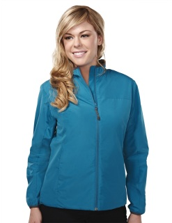 Tri-Mountain 6220 Chelsea-Women's 100% Polyester Long Sleeve Jacket With Water Proof.
